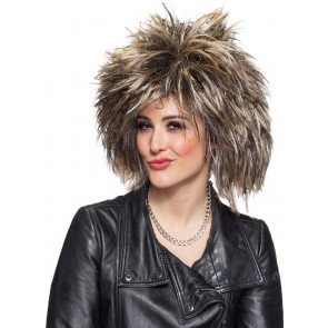Rock Star 80er Jahre Pop Frisur Perücke Damen