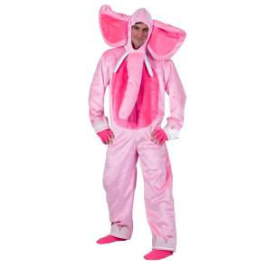 Elefant rosa pink Kostüm Erwachsene