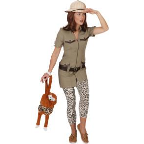 Safari Kleid mit Gürtel