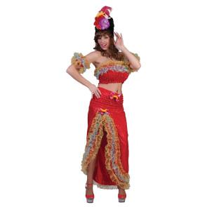 Bild von schwarzhaariger Frau mit südamerikanischen Kleid