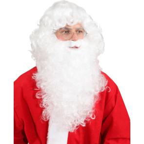 weißer Rauschebart Nikolaus und Bart