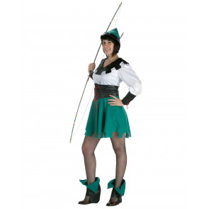 Schütze Diana in grün weiß (ohne Bogen)