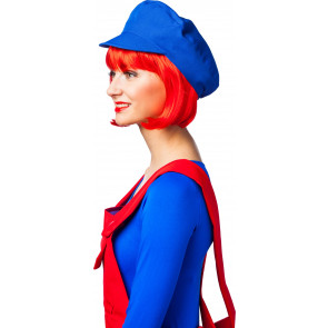 Klempner Mütze Blau