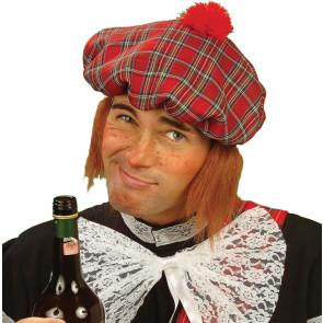 Lustige Schottenmütze - Mütze für Schotten Kostüm