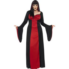 Gothic Priesterin Halloween Damenkostüm XXL und XL