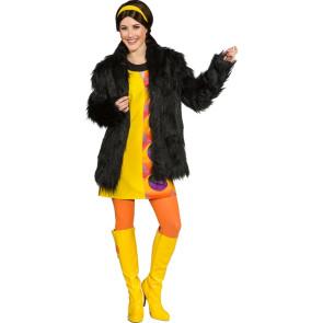 Zotteljacke Zottel Jacke für Damen für Karneval