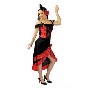 Falmencotänzerin SEvillama Flamenco kleid