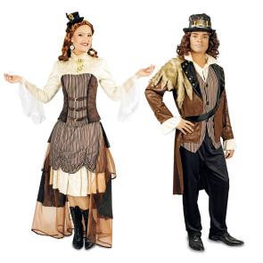 steampunk Kostüm für Paar günstig