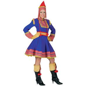 Foto von Model verkleidet als Zigeunerin für Fasching und Fasnacht