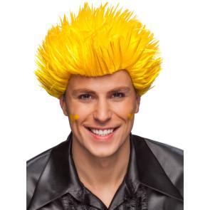 Spiky Frisur - Perücke Spike gelb