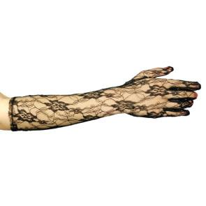 Spitzen Handschuhe lang für Damenkostüme Spitzenhandschuhe