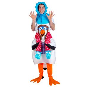 Storch mit Baby Carry-me Kostüm