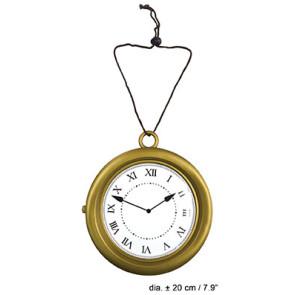 Taschenuhr XL Retro Deko Uhr gold