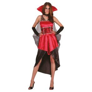 Teufelin Vampirin Kostüm für dunkle Mottoparties