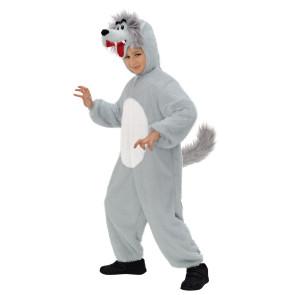 Kinder Wolfskostüm