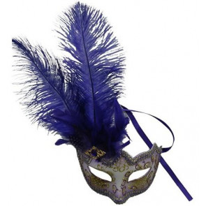 Maske Venedig azul