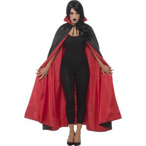 Wendeumhang Damen schwarz und rot 127cm