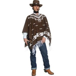 Western Poncho für Revolverheld Italo Western