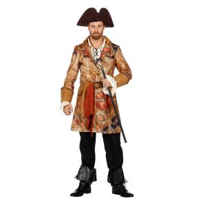 Piratenmantel mit Schatzkarte