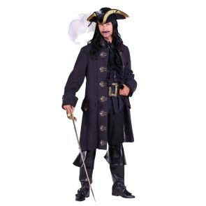 Hochwertiger Piraten Kostümmantel