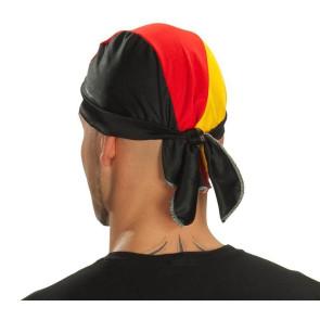 Kopftuch schwarz rot gol Deutschlandfarben