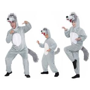 Wolfsrudel Tierkostüm Wolf für Familie und Gruppen