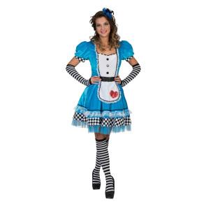 Wonder Alice Märchenkostüm hellblau