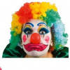 Clownperücke bunt