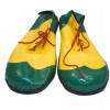 Schuhe clown gelb/grün