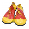 Schuhe Clown rot/gelb
