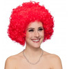 Afro-Locken in rot