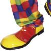 Clown Schuhe gelb/rot