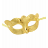 Goldene Augenmaske