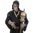Vodoo Mann mit Totenkopf Kette