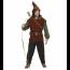 Mittelalterlicher Held als Bogenschütze wie Robin Hood