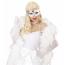 Augenmaske in silber Dame