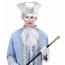 Venezianische Augenmaske silbern Herren