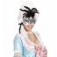 Karneval Venedig Ball Federmaske mit Strass