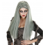 Gebleichte Zombie Haare mit Zombieperücke Damen