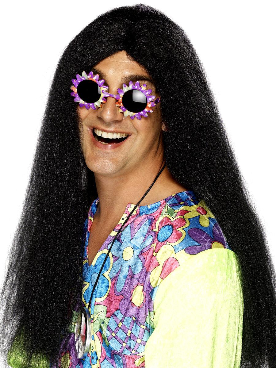Lange Blonde Haare Perücke Hippie Für Männer