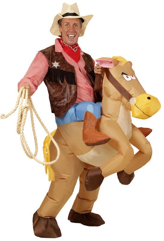 Carry me Reiter mit Pferd