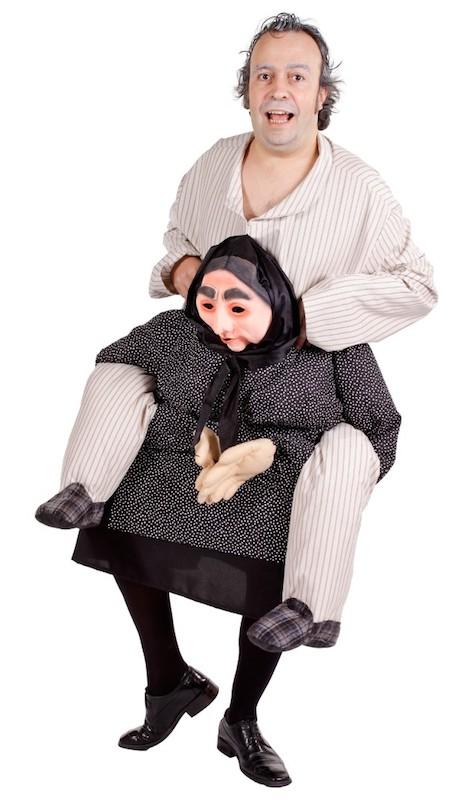 Carre Me - Huckepack Kostüm Oma