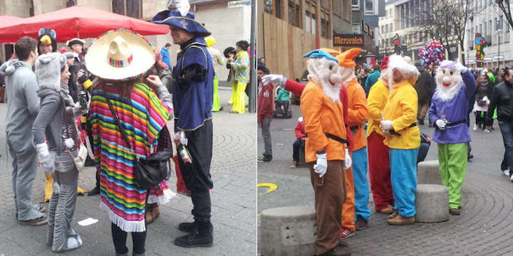 Impression Beispiele Verkleidungen Karneval Köln 2