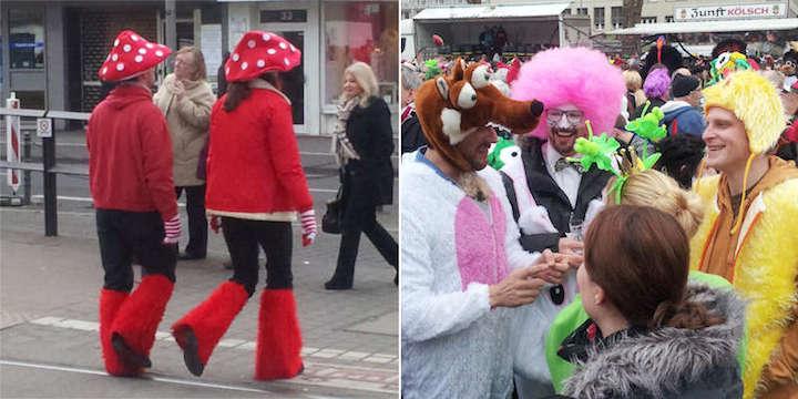 Impression Beispiele Verkleidungen Karneval Köln 1