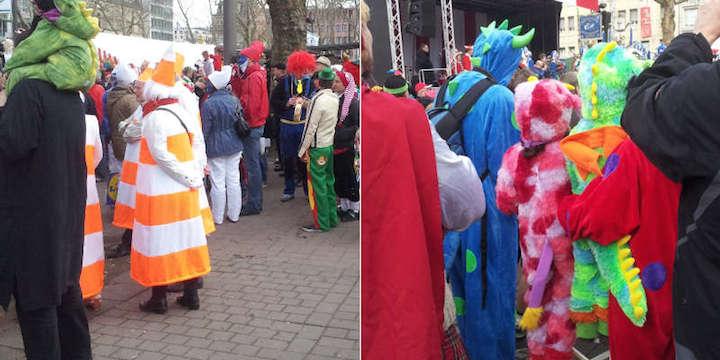 Impression Beispiele Verkleidungen Karneval Köln 3