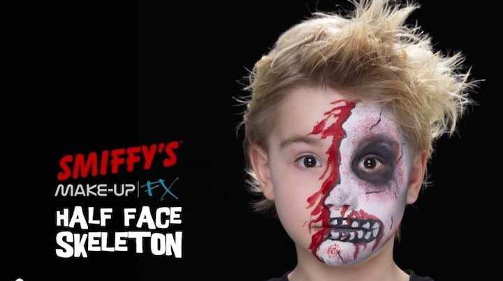 Halloween Make Up Kinder