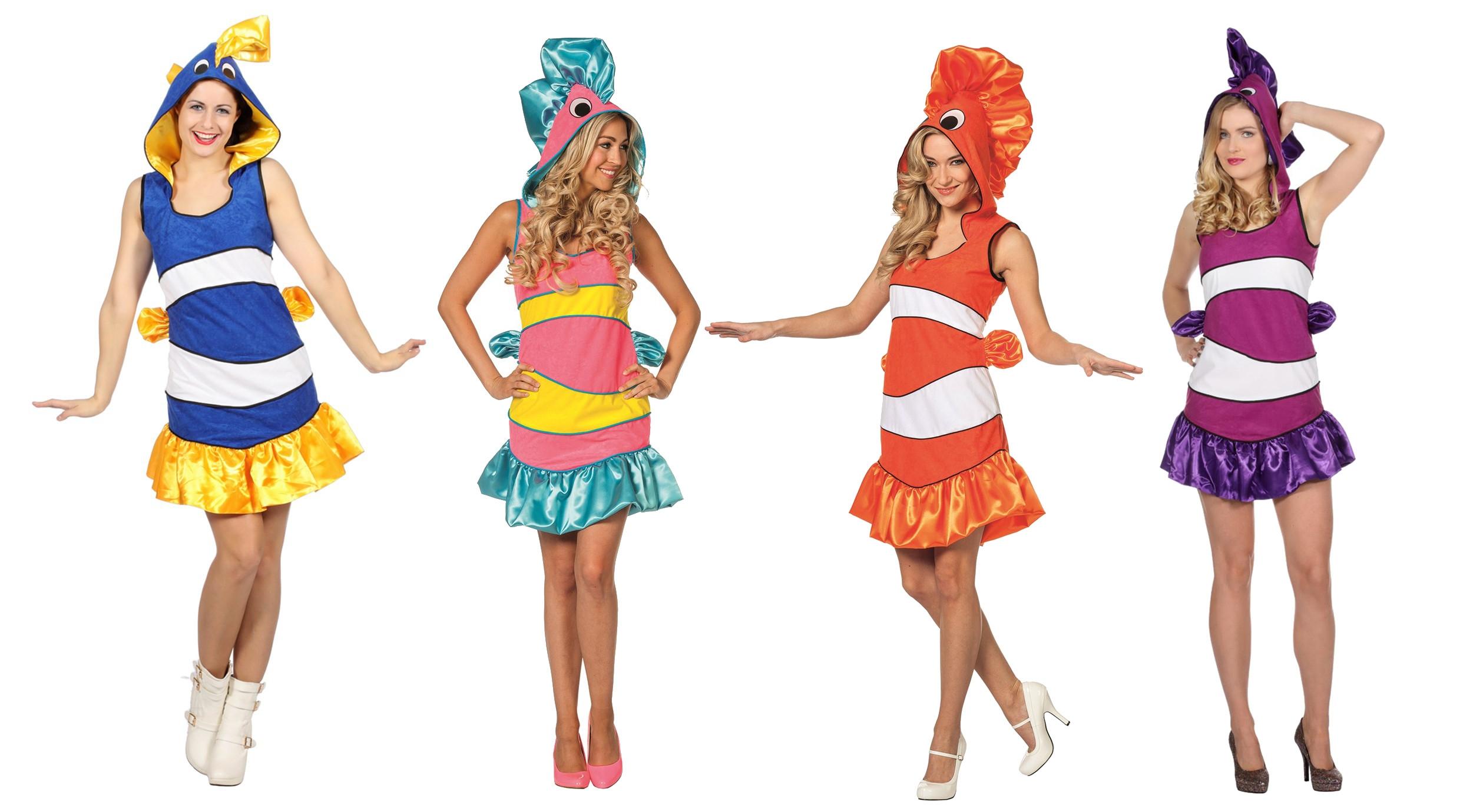 Kostümidee Karneval Fisch Meer Wasser
