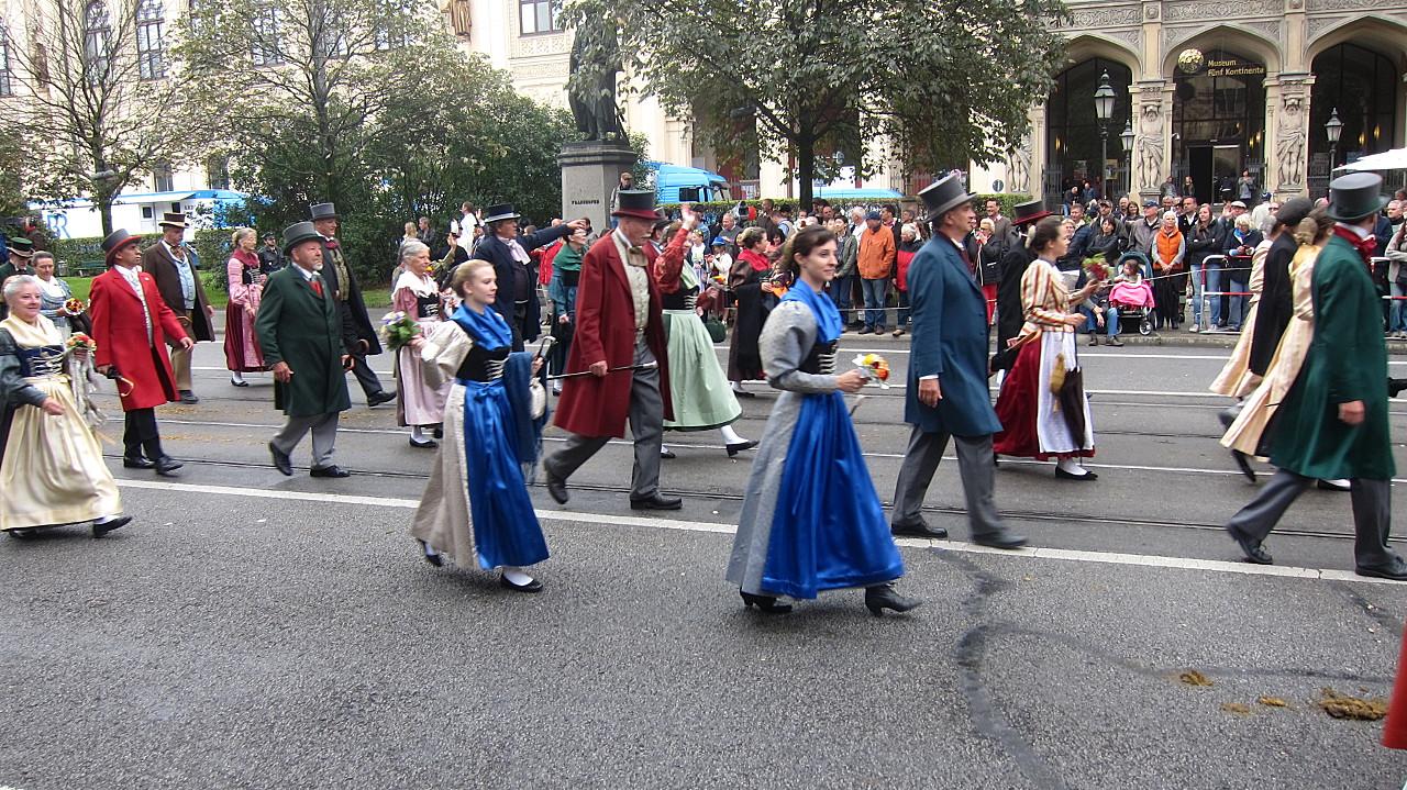 Historische Kleidung Münchner Bürger
