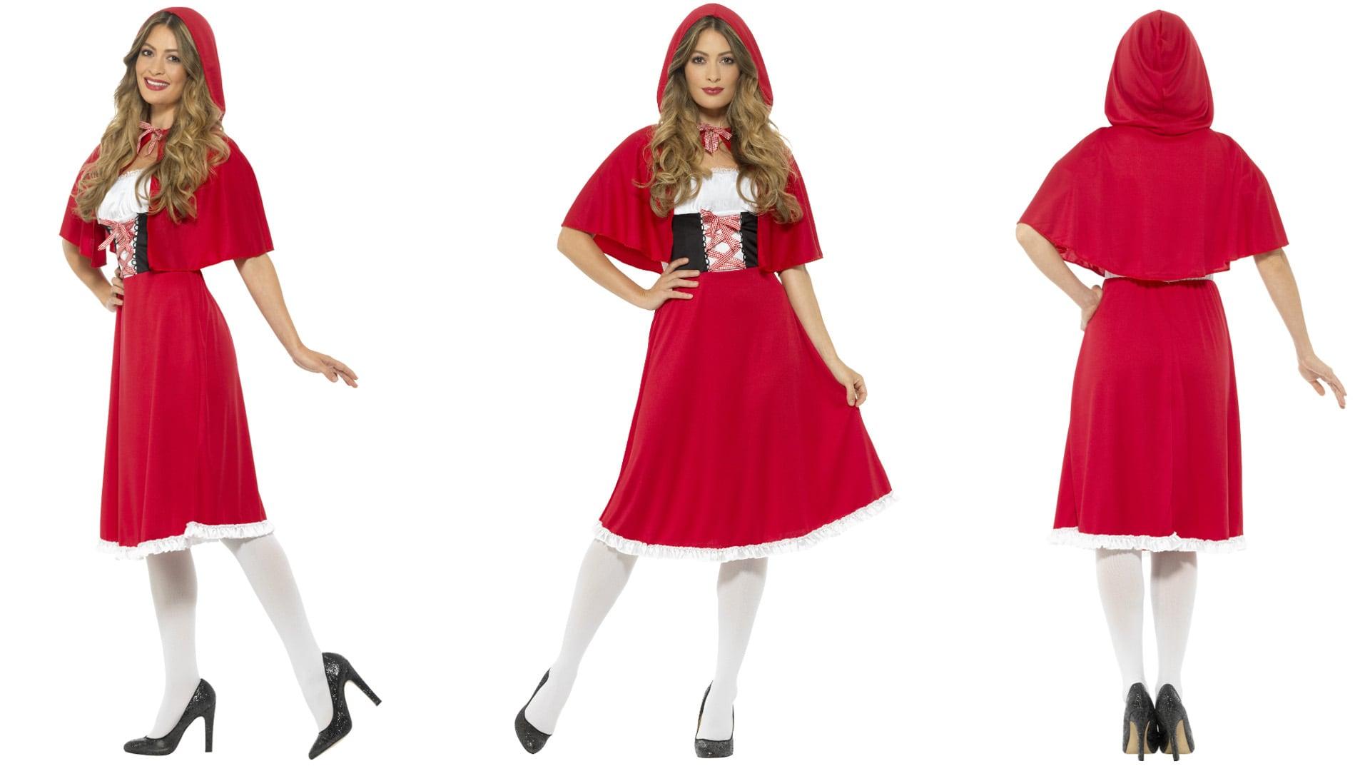 Langes Rotkäppchen Kostüm 2018