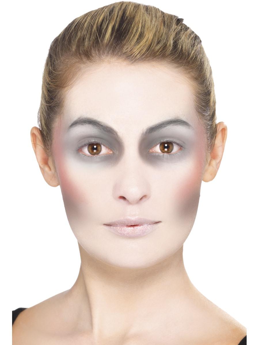 Gesicht schminken Halloween - akzentuieren Schritt 4